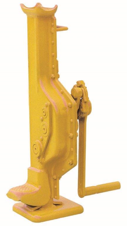 mechanical steel ratchet toe jack hvs sereis